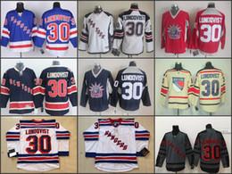 Wholesale Men s New York Rangers Hockey Jerseys Henrik Lundqvist Jersey Home Royal Blue th Navy Winter Classic Black Stitched Jersey