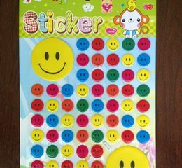 Wholesale New Christmas Party Stickers Instagram Facebook Twitter for Apple iPhone Emoji sticker Facial Expression Waterproof Labels Chalkboard Chalk