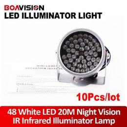 Wholesale 10pc LED illuminator Light CCTV IR Infrared Night Vision For Surveillance Camera