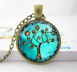 Wholesale Copper Tree Necklace Pendant.Charms Art. Picture Pendant. Copper Jewelry. Handmade Jewelry Tree Necklace women