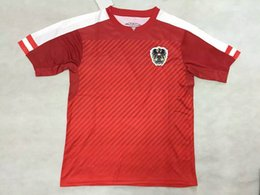 Wholesale New best thai quality Austria home soccer jerseys euro cup national team football shirt