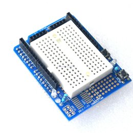 Wholesale UNO Proto Shield prototype expansion board with SYB mini breadboard based ForARDUIN UNO ProtoShield