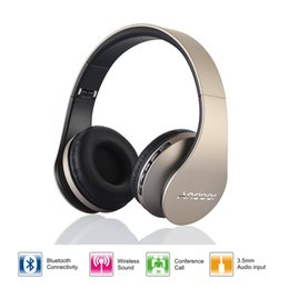 Wholesale Andoer LH Digital in Stereo Bluetooth EDR Headphones Wireless Headset Earphone with Micphone for Smart Phones PC V1267
