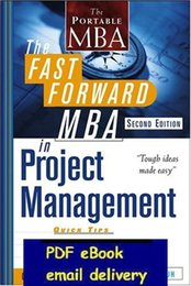 Wholesale The Fast Forward MBA in Project Management nd Edition