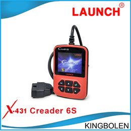 Wholesale 2015 Newly Released Launch Creader S languages OBDII Generic Code Reader Online Update Creader VI Plus One Year Warranty