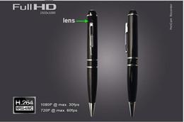 Gb mémoire vidéo en Ligne-Hd 1080 p caché stylo espion caméra détection de mouvement mini enregistreur vidéo DV et 8 gb de mémoire caméras miniatures