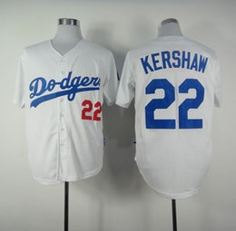 Wholesale Clayton Kershaw White Home Jersey Cheap Baseball Jerseys Los Angeles Dodgers Authentic Cool base Wear Jerseys
