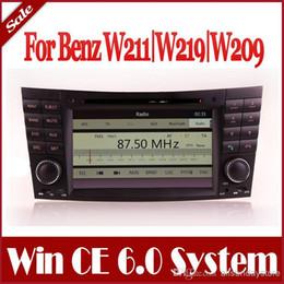 Wholesale 2 Din Car DVD Player GPS Navigation for Mercedes Benz E Class W211 E200 E220 E240 E270 E280 with Bluetooth Radio TV Stereo Audio