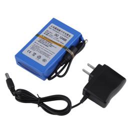 Promotion 12v ac chargeur 4000mAh Lithium-ion Batterie Rechargeable Super + chargeur secteur US Plug 2016 Livraison gratuite tinyaa