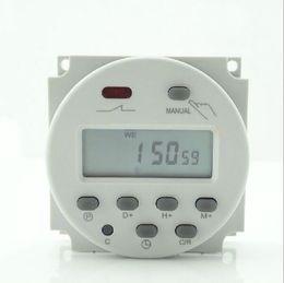 Wholesale New V A Time LCD Digital Power Programmable Timer AC Relay Switch v v v v