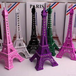 Wholesale Hot Sale cm rhinestone Eiffel Tower Eiffel Tower in Paris France antique architectural ornaments decorated model