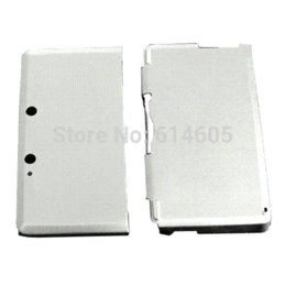 Wholesale Silver Anti shock Hard Aluminum Metal Box Cover Case Shell for Nintendo DS Console shell bracelet box scarf