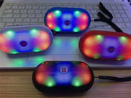 Wholesale Y s Pill Speaker Wireless Mini Bluetooth Speaker with LED Light FM TF Card Slot Built in Battery Hands free