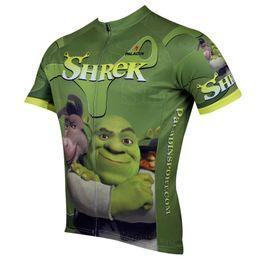 Hot Sale 2015 Shrek Paladin Men 's Bicycle Cycling Jersey shirt Sport Cycle Jersey S - 3 XL Cycling Short Sleeves