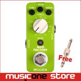 Efectos de modulación en Línea-True Bypass Effect Efecto Pedales de Guitarra Mooer Mod Modulación de Fábrica Efecto Pedales Full Metal Material Alta Calidad MU0526