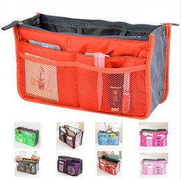 Women Insert Purse Cosmetic Storage Organizer Bag Handbag Makeup Tidy Travel, Collection Organizer 850pcs lot