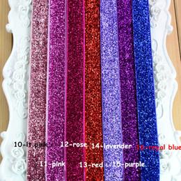 Baby Hair Accessories 1.6cm Width Glitter Elastic Headbands for Girls Baby Hair Band DIY Handmade Headband Accessories 16 Colors