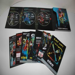Wholesale Popular CIZE Workout DVD The End of Exercise Brand New CIZE Workout DVDS SET Base Kit with Guides Free DHL from Factroy Directly Sale
