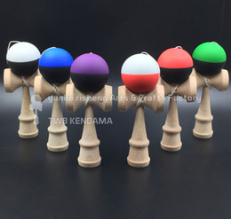 200piece kendama half piece Rubber paint Game ball skills with a sword jade jade sword ball sword flexible paint kendama wholesale