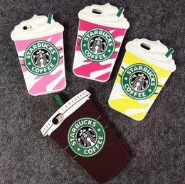 Wholesale cute cases Starbucks coffee for samsung galaxy s3 s5 s6 note3 note4 for iphone4s i5s i6 i6s ice cream with sucker