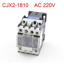 Wholesale New Standard V Phase P N C AC Contactor DIN Rail Mount V Coil CJX2
