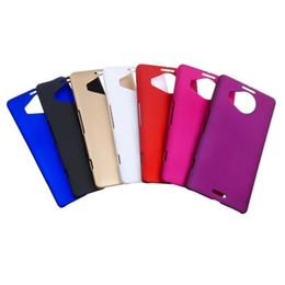 Lumia cubierta dura recubierta de goma en Línea-Caso plástico de colores de goma dura mate de la PC para la galaxia ON7 G600 G6000 Nokia Lumia 950 de la cubierta de la piel / 950XL XL HTC uno A9 Volver 10pcs