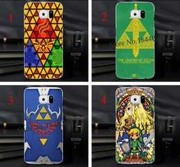 Wholesale 4pcs Legend of zelda stained glass Hard Skin Transparent stealth Case Cover for Samsung Galaxy s3 s4 s5 s6 s6edge