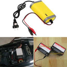 Wholesale 12V A Intelligent auto Car Battery Charger Voltage Rechargeable Battery Power Charger V Automatic Power Supply hot selling