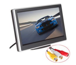 Wholesale 2 Ways Video Input Inch TFT LCD Display x Definition Digital Panel Color Car Rear View Monitor For Rearview Camera