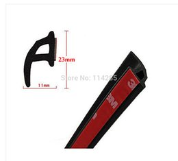 Wholesale 4 Meters quot mm mm P Style Car Door Rubber Seal Strip Weatherstrip Seals Hollow A3