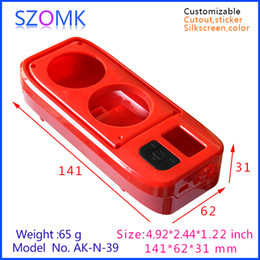electronics plastic instrument boxes new arrival box (4pcs) 141*62*31mm handheld plastic project box, enclosure case housing box