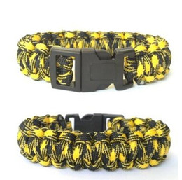 Self-rescue Paracord Parachute Cord Bracelets Survival Camping Travel Kit