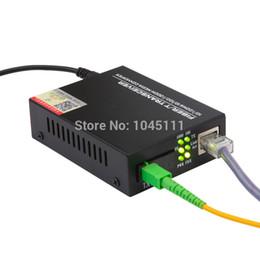 Wholesale DIEWU HTB AB Single mode Single fiber Fiber Optic Fiber T Transceiver M M Media Converter SC KM Pairs