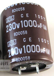 Wholesale Electrolytic capacitor uf v volume x35mm capacitor Electronic Components