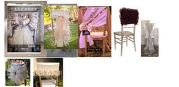 Wholesale 2015 Link for mixed chair sashes covers samples details please contact custom service thanks