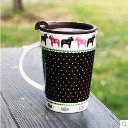 Wholesale FBH042659 drink ware cup mug new2015 coffee beer tea cups mugs idyllic Small fresh high quality