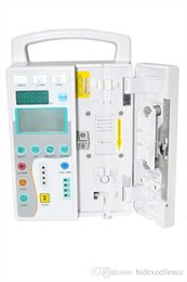 Wholesale Quality Guaranteed Medical Infusion Pump CE FDA KVO IV Fluid Infusion Pump Voice Alarm for Medical huaman Veterinary Use