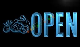 Wholesale LK763 TM OPEN Motorcycles Auto Shop Car Neon Light Sign Advertising led panel jpg