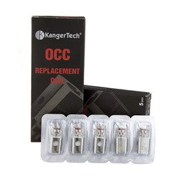 KangerTech occ vertical Replacement Coil Organic Cotton Coils 0.5 1.2 ohm For Kanger Subtank Atomizer 0266006