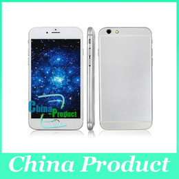 Wholesale Goophone I6 inch I6 Plus Dual Core MTK6572 Smart Phone M G HD screen G GPS cell phone