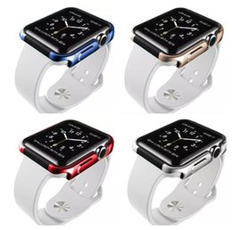 Wholesale X doria Defense Edge Case Smart Watches Protector Cover Aluminum Frame For mm Apple Watch Colors New