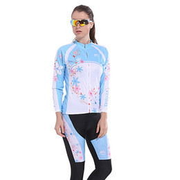Wholesale-Breathable quick-dry Long sleeve cycling jersey mtb bmx road mountain bike ciclismo bicycle bike wear cycle clothing for women