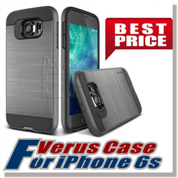 Wholesale iPhone S Case Verus High Pro Shield Steel Silver Drop Protection Minimalistic For Apple iPhone Samsung S6 S6edgS6 edge Plus Note