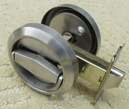 Wholesale Stainless Steel Recessed Cup Install Handle Privacy Sliding Door Locks Antique Lock