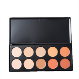 Wholesale Professional Makeup Colors Concealer Palette Face brightener highlighter Primer Cream Cosmetic Powder Make Up Foundation tool