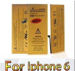 Wholesale Gold Label Replacement Battery For Iphone Iphone Li ion Bullit in Internal Battery Full Capacity charge Tested Battery Top Quality