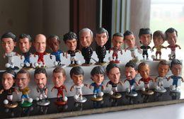 Wholesale football basketball soccer player star collection doll cartoon toys kobe messi ronaldo Ribery James Collection bale
