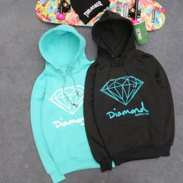 Wholesale Brand Diamond Supply Co Men Hip Hop Hoodies Sudaderas Hombre Men Sweatshirt Hooded Female Skateboard Pullover Moleton Masculino