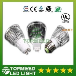 DHL CREE Led Lamp 9W 12W 15W MR16 12V GU10 E27 B22 E14 110-240V Led spot Light Spotlight led bulb downlight lighting 200