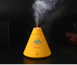Wholesale Ultrasonic Humidifier Mute Home Air Humidifier Changing Color LED Lights Aroma Diffuser Nebulizer Electric Aromatherapy Essential